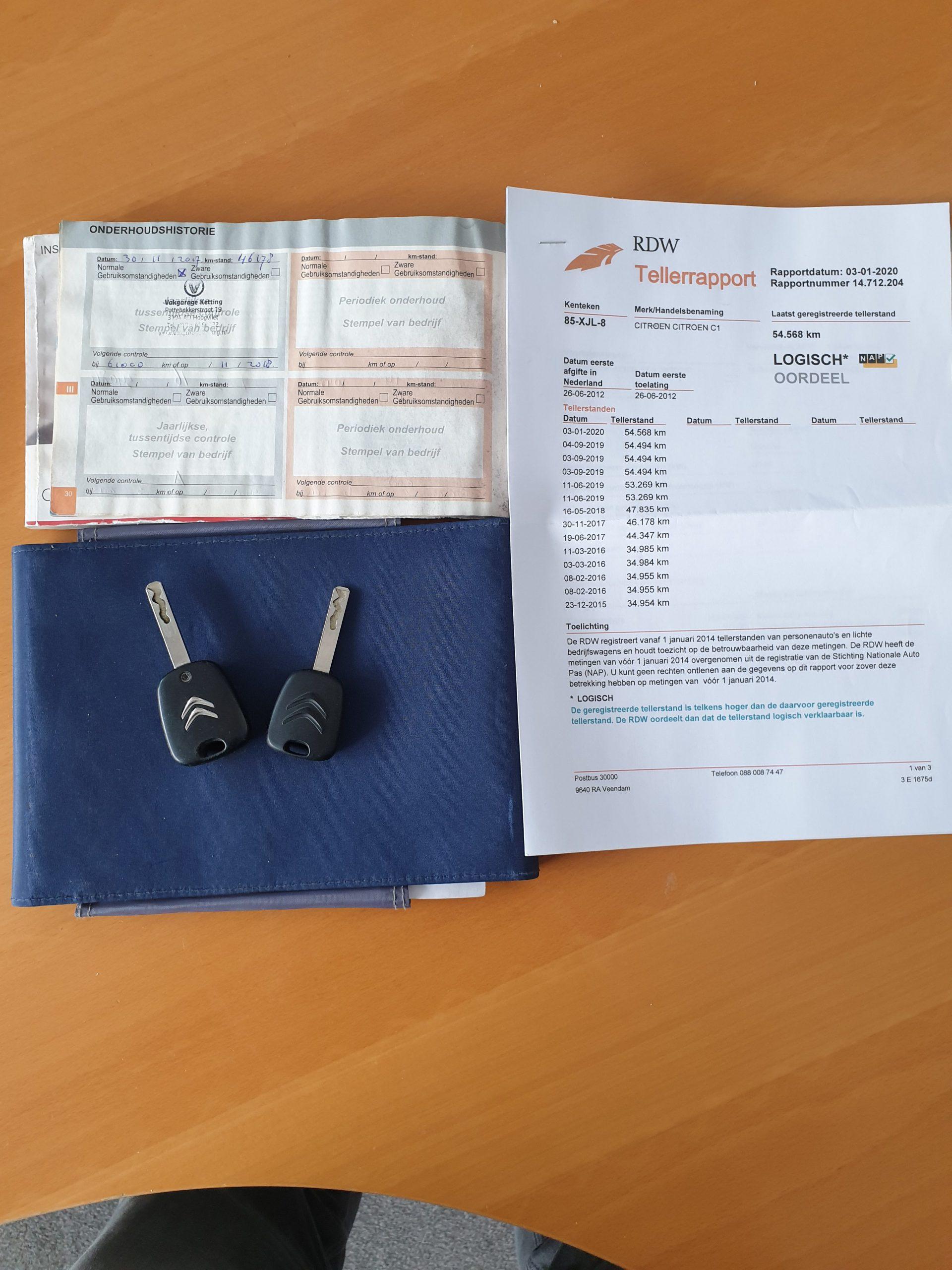Citroen C1 1.0i 68PK 5D full